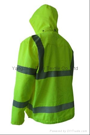 High Quality Green Nylon Jacket Work Cloth Workwear Apparel Coverall 7