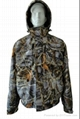 Fine Cotton Twill Camouflage Winter Jacket Short Coverall Work Cloth 1