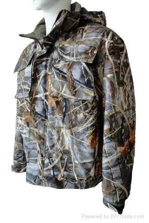 Fine Cotton Twill Camouflage Winter Jacket Short Coverall Work Cloth 6