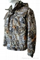Fine Cotton Twill Camouflage Winter Jacket Short Coverall Work Cloth