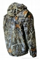 Fine Cotton Twill Camouflage Winter Jacket Short Coverall Work Cloth 7
