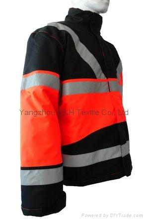 Nylong Orange Winter Jacket Garment Coverall Work Cloth 2