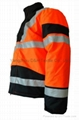 Nylong Orange Winter Jacket Garment Coverall Work Cloth