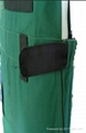 Hot Good Quality Green Bib Pants trousers Overall Work Cloth Short