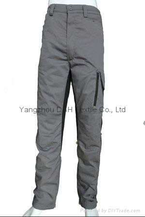 Lined Twill Gray Pants, Shorts, Workwear Pants, Trousers