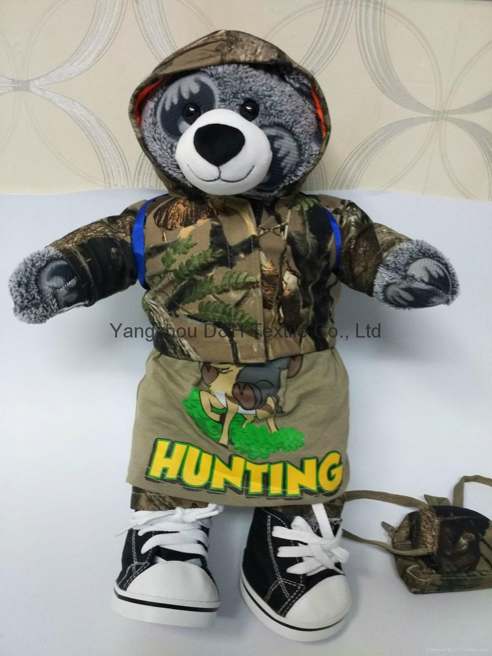 luxury Plush Toy Bear Promotion holiday Gift in color box 2