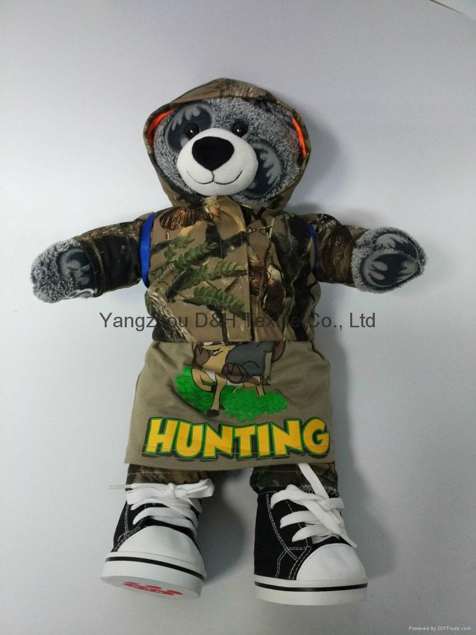 luxury Plush Toy Bear Promotion holiday Gift in color box 5