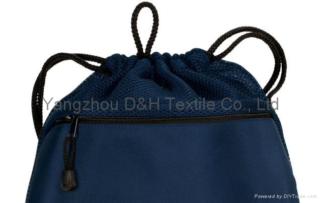 Competitive Promotion Polyester Drawstring Bag 7