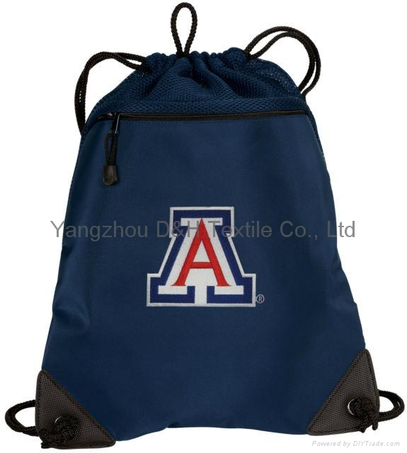 Competitive Promotion Polyester Drawstring Bag 3