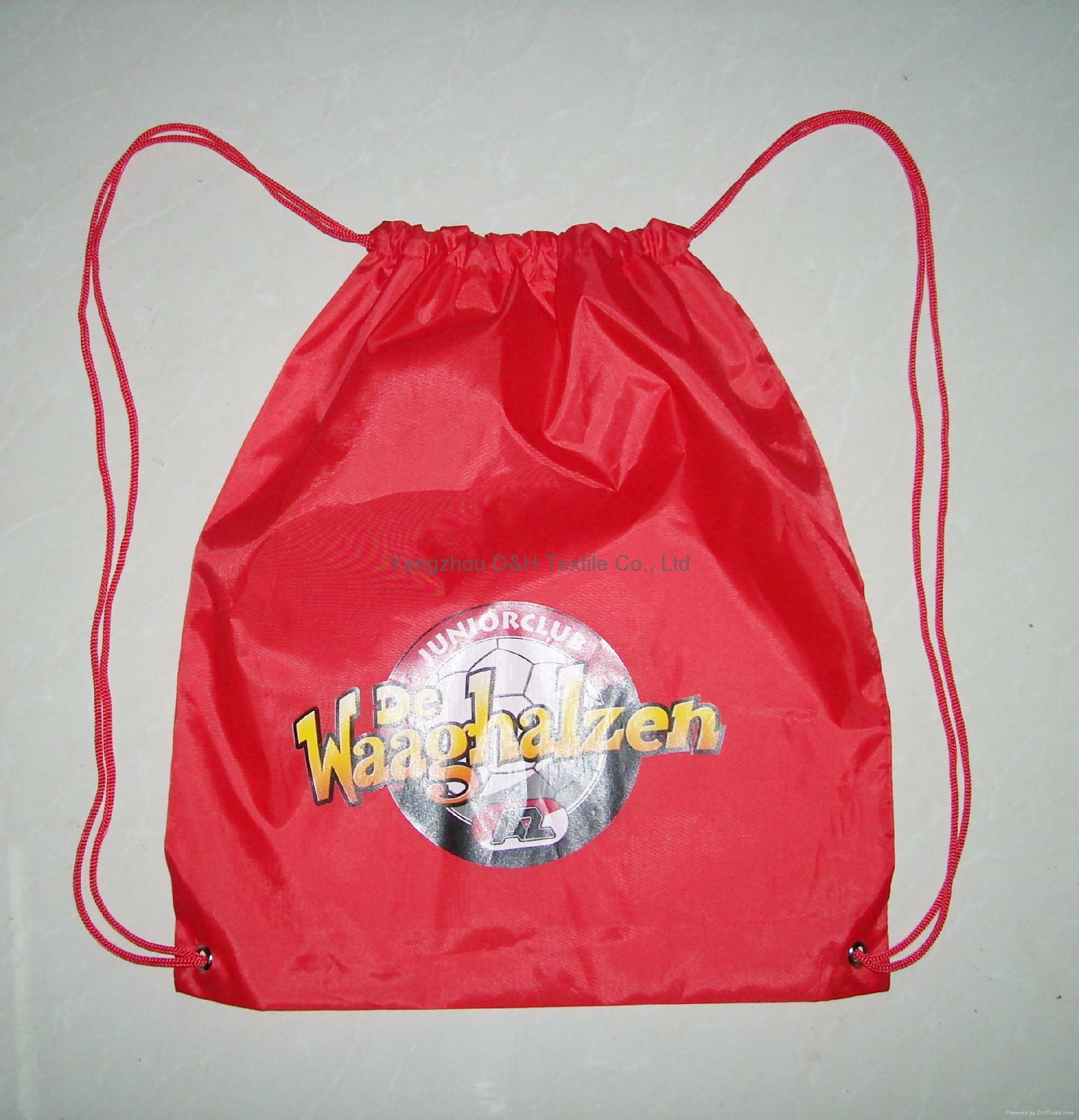 Competitive Promotion Polyester Drawstring Bag 1