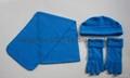 Hot Polar Fleece Sets/Hat/Gloves/Scarf 6
