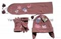 Polar Fleece Cap/Anti-Pilling Polar Fleece Set/Warm Set