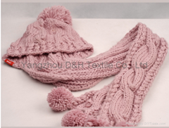 Child Knitted Set/Pink K