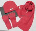 Child Knitted Set/ Knitted Hat / Knitted Scarf/Knitted Gloves