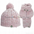 Child Knitted Set with Butterfly Accessories 2