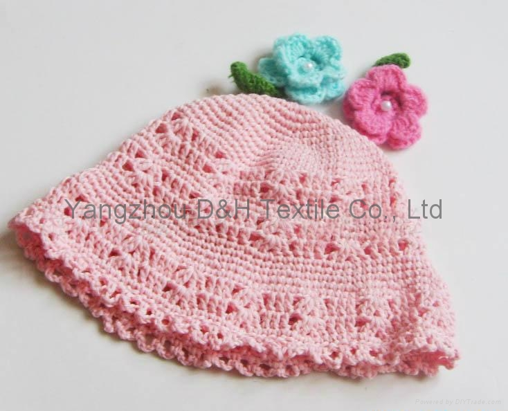 Fashion handwork knitted Reversible Knitted Hat 3