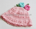 Fashion handwork knitted cap/Reversible Knitted Hat 3