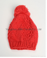 Crochet knitted hat with good quality 5