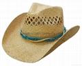 Raffia Straw Surf Hat Candana  Cowboy Straw hat 5