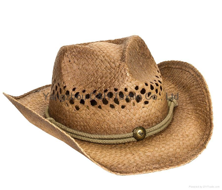 Raffia Straw Surf Hat Candana  Cowboy Straw hat 6
