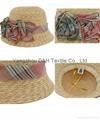 Lovely Children Straw Hat/Sun Hat/Paper Straw Hat (DH-LH9114)