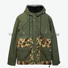Honesty Quality Olive Jacket Work Cloth Work Wear Apparel Garment Dress