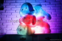 Creative Night Light LED Stuffed Animals Dog Glow Plush Toys Gifts for Kid (Hot Product - 1*)