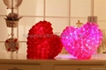 Glowing Colorful Luminous LED Lucky Ramanas Rose Plush Pillow Stuffed Toys
