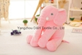 Creative Night Light LED Stuffed Animals Elephant Glow Plush Toys Gifts for Kids