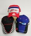 Outdoor top Cotton Camo wholesale Baseball Gorros Jockey Car racing fancy Caps