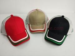 Gorros cheap plain Cotton wholesale Baseball blank wholesale cappy mesh Caps