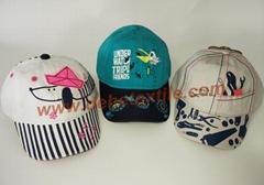 Fashional baby toddler hats baseball youth kids cap bucket hat newsboy cap