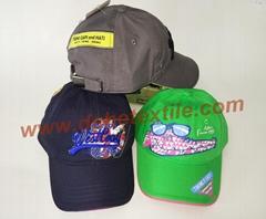 Stylish  baby toddler hats baseball cowboy kid cap bucket hat newsboy cap