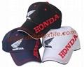 Cotton  Structed Sport Car brand Gorros Streamline style jockey baseball cap