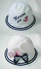 Polular Fashion Cotton Child Sun hat