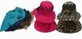 Summer hat Fashion polyester Sun Bucket cool fedora Hat