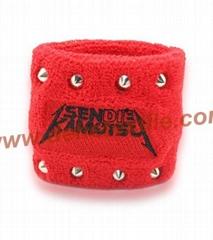 Custom Special design Sport Cotton Sweat Wristbands
