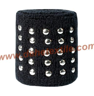 Custom Special design Sport Cotton Sweat Wristbands  2