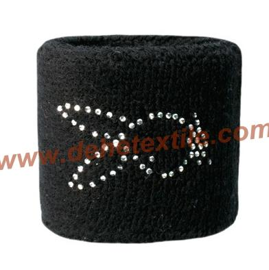 Custom Special design Sport Cotton Sweat Wristbands  3