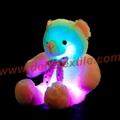 New Style LED Inductive Teddy Bear Stuffed Animals Plush Toy  4