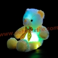 New Style LED Inductive Teddy Bear Stuffed Animals Plush Toy  7