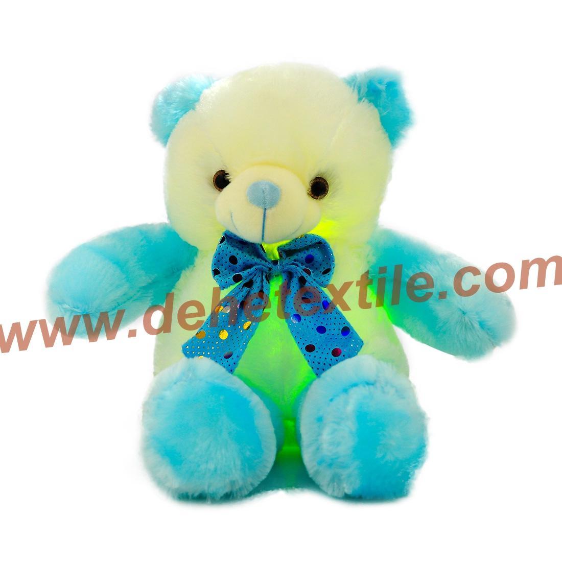 New Style LED Inductive Teddy Bear Stuffed Animals Plush Toy  11
