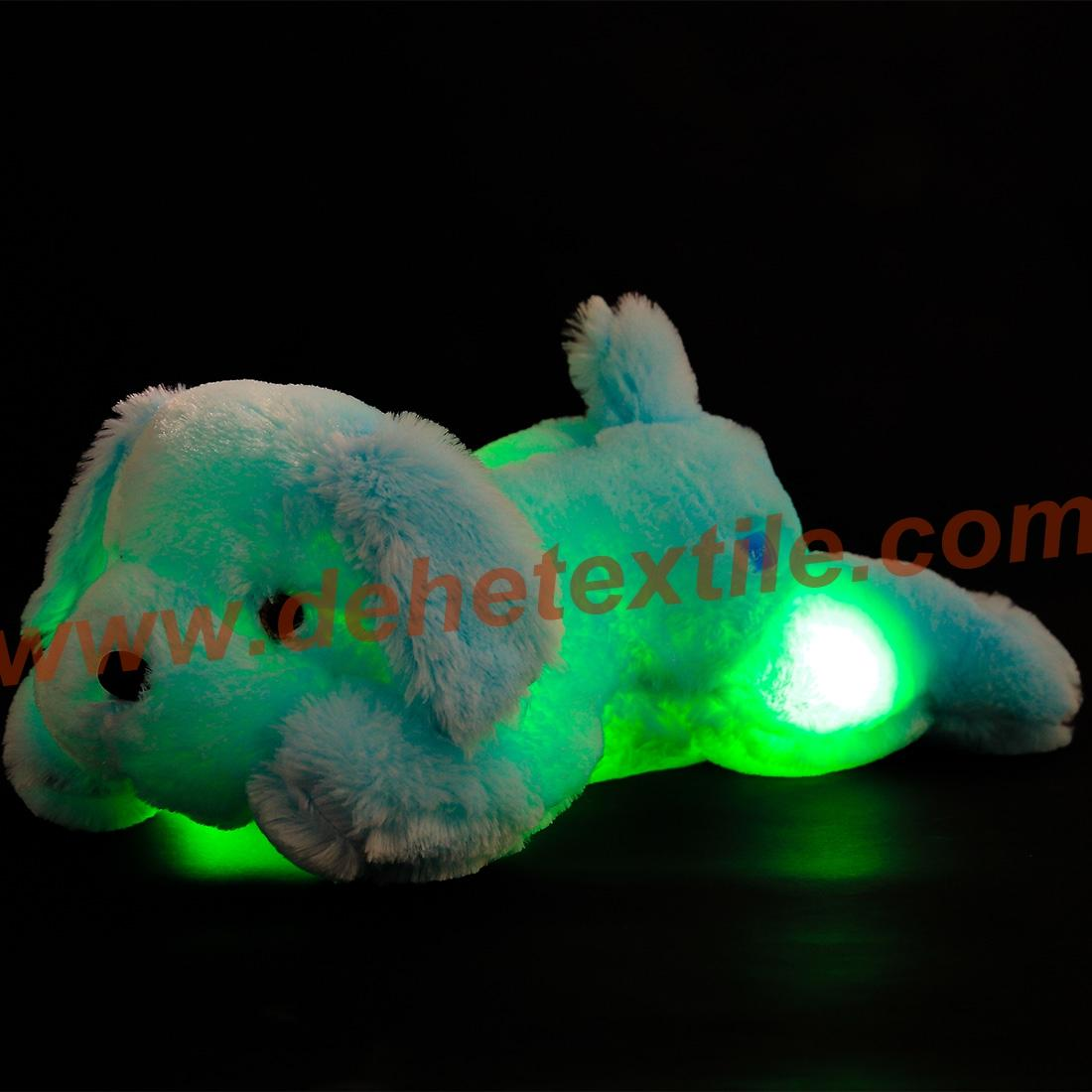 Creative Night Light LED Stuffed Animals Dog Glow Plush Toys Gifts for Kid 5