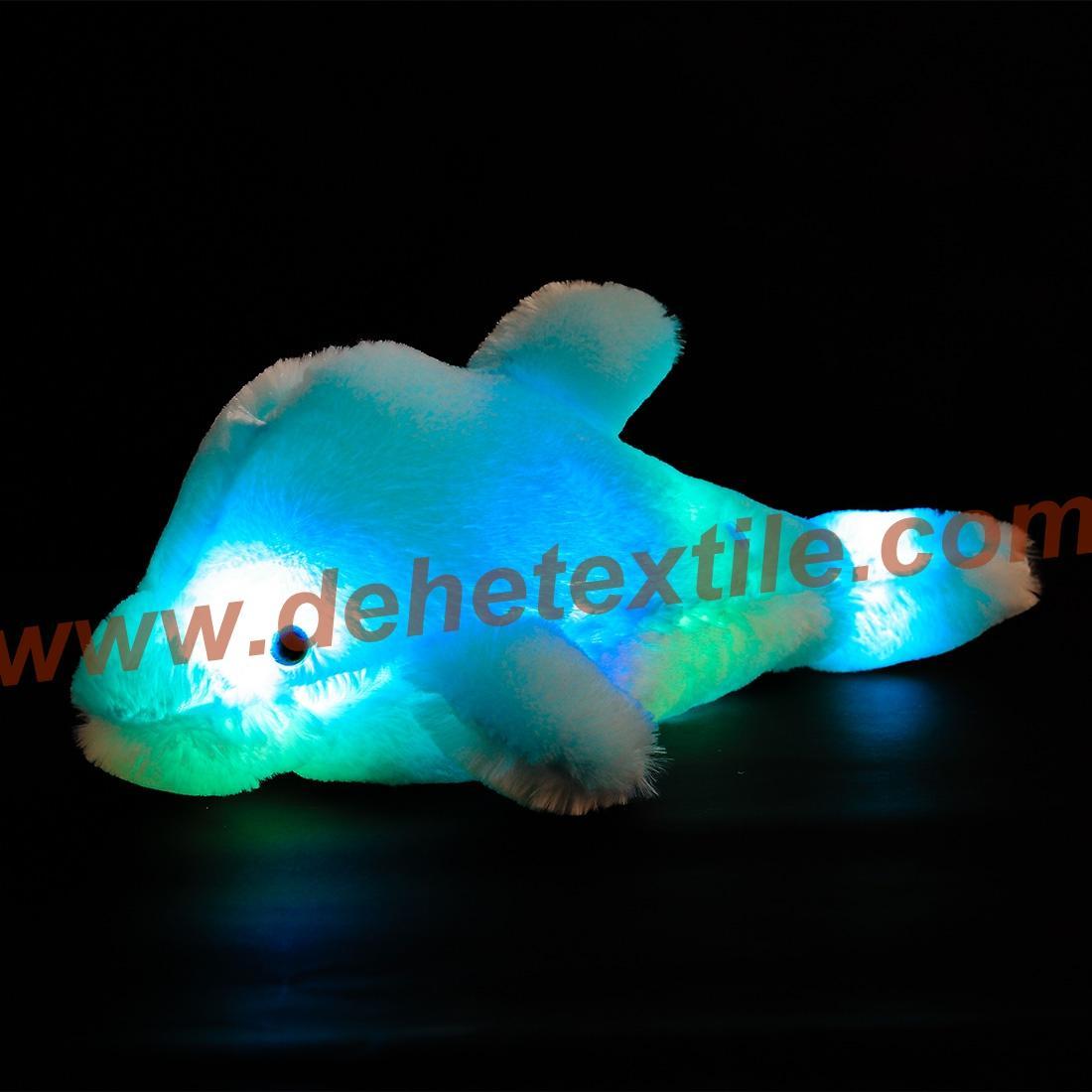 Creative Colorful Led Light Stuffed Animal Toy Glowing