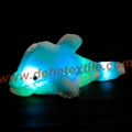 Creative Colorful LED Light Stuffed Animal Toy Glowing Dolphin Plush Toys 8
