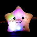 Blue Glowing Colorful Luminous LED Lucky Star Plush Pillow Stuffed Toys 7