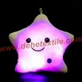 Blue Glowing Colorful Luminous LED Lucky Star Plush Pillow Stuffed Toys 9
