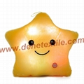 Blue Glowing Colorful Luminous LED Lucky Star Plush Pillow Stuffed Toys 12