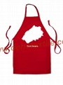 Printed Kitchen fashion cooking Christmas holiday Apron
