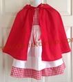 Nice Princess Style kitchen apron with heart shape pocket Garden Apron
